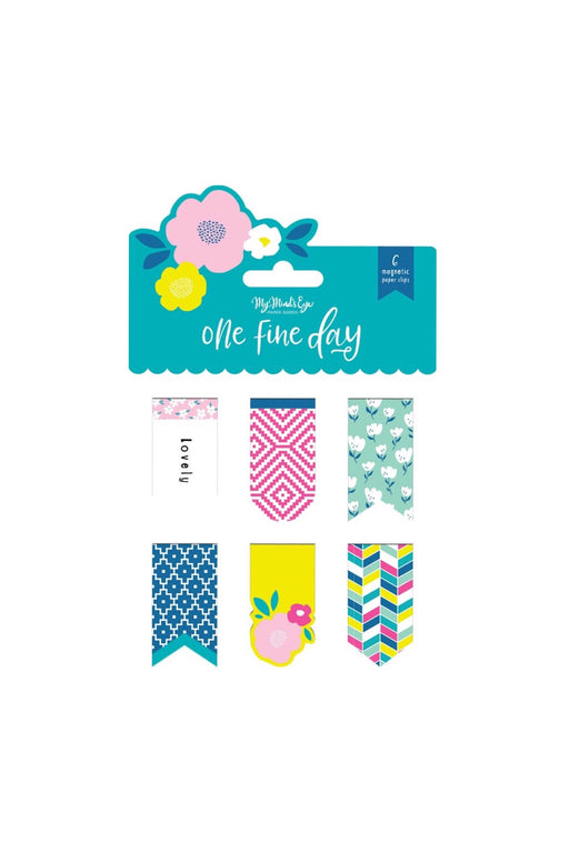 One Fine Day Magnetic Clips, Stationary, My Mind's Eye - 3LittlePicks