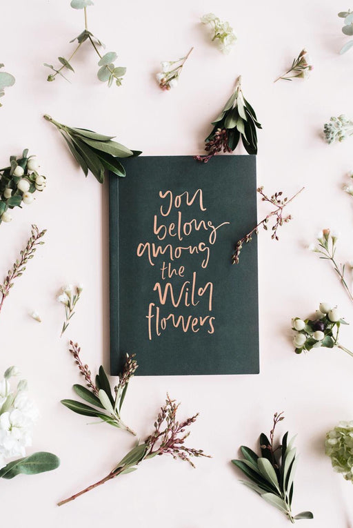 Wildflower Notebook, Stationery, Emma Kate Co. - 3LittlePicks