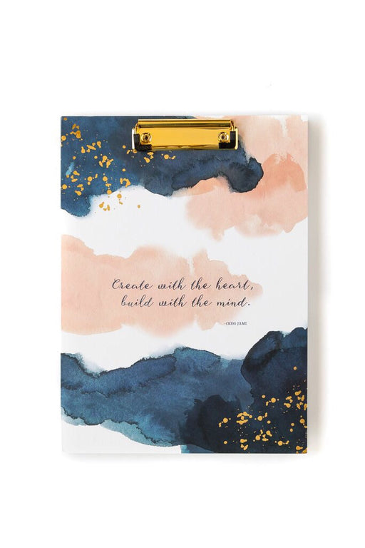 Watercolour Clipboard Folio