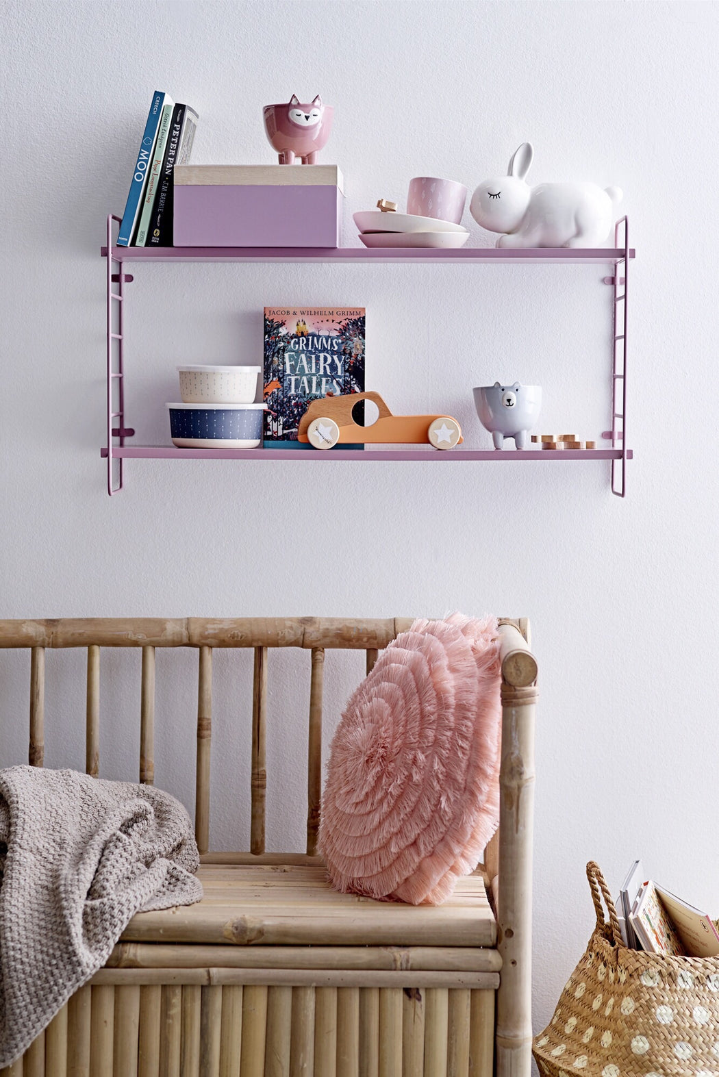 North Shelf Pink, Shelf, Bloomingville - 3LittlePicks