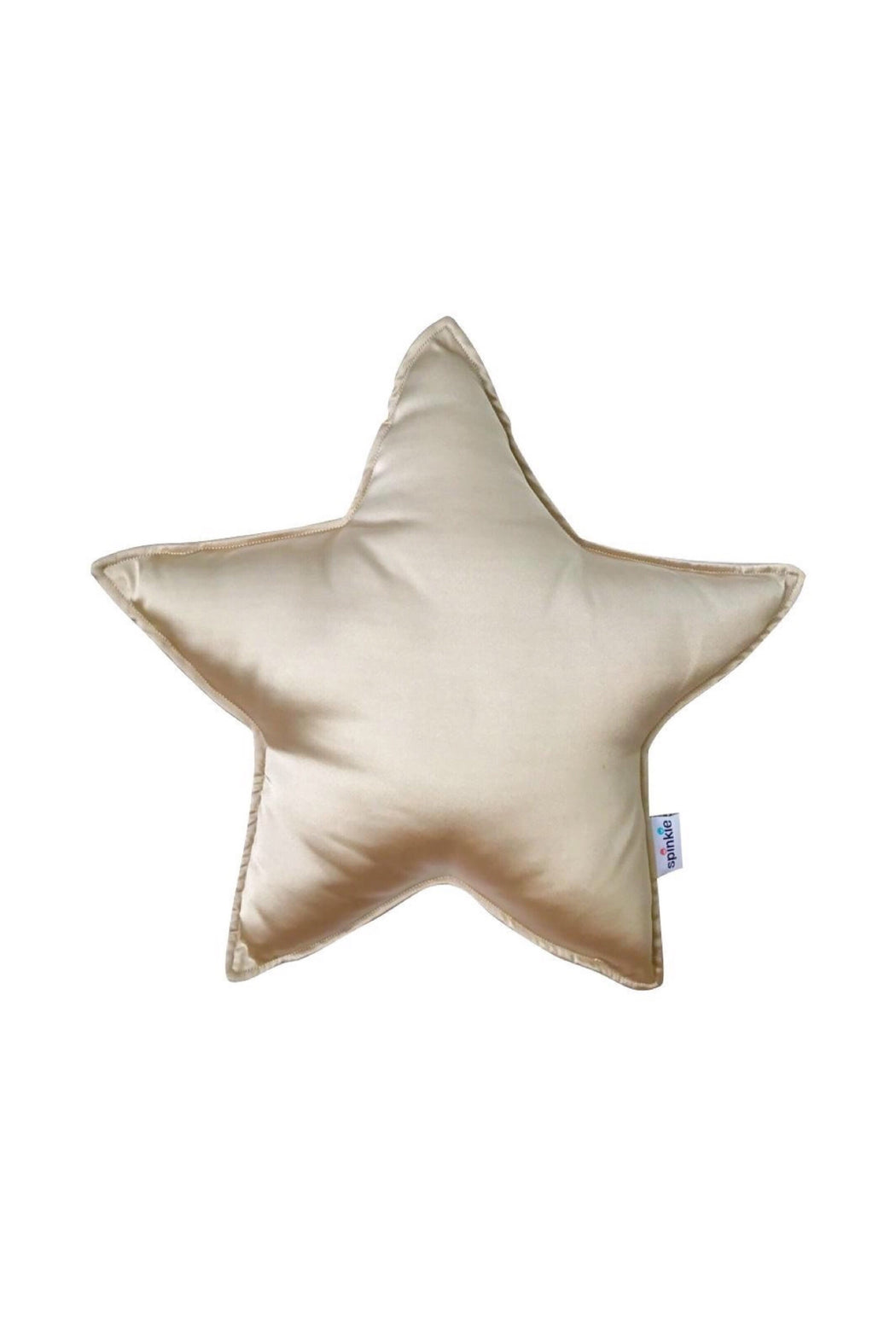 PRE-ORDER: Charmeuse Star Pillow Pale Gold, Cushion, Spinkie - 3LittlePicks