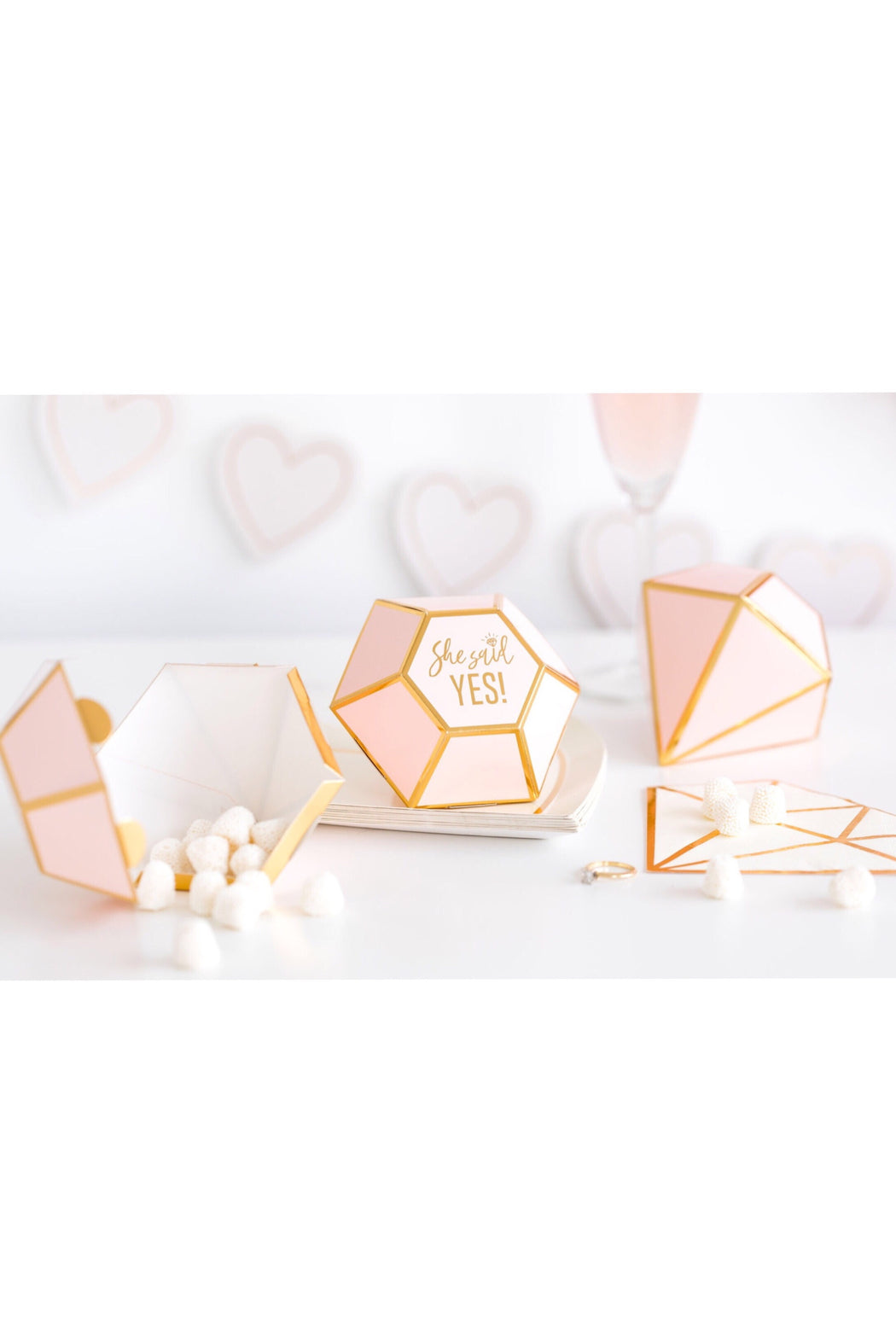 Bride To Be Favor Boxes, Partyware, My Mind's Eye - 3LittlePicks