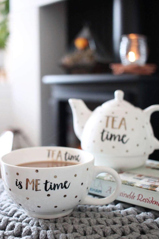 Metallic Monochrome Tea Time, Drinkware, Sass & Belle - 3LittlePicks