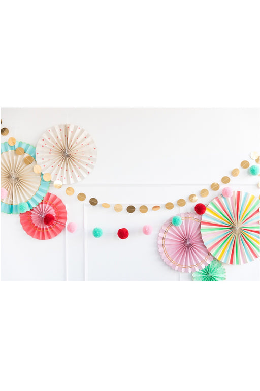 Colourful Pom Pom Garland