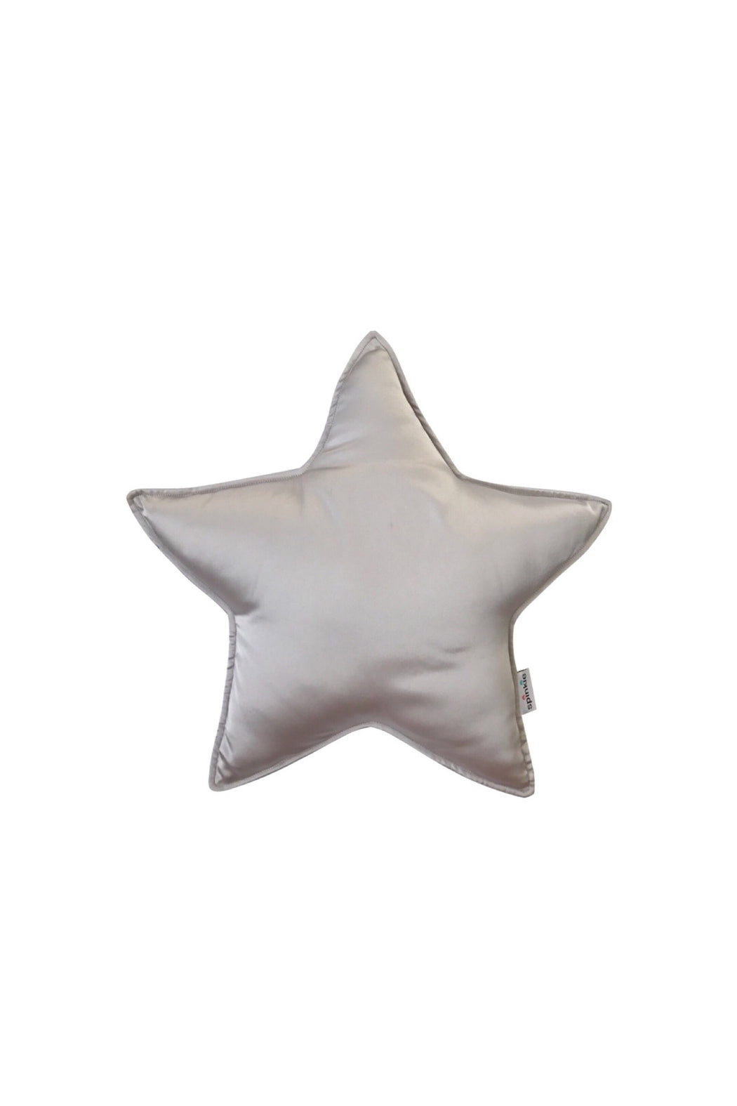 Charmeuse Star Pillow Oyster, Cushion, Spinkie - 3LittlePicks