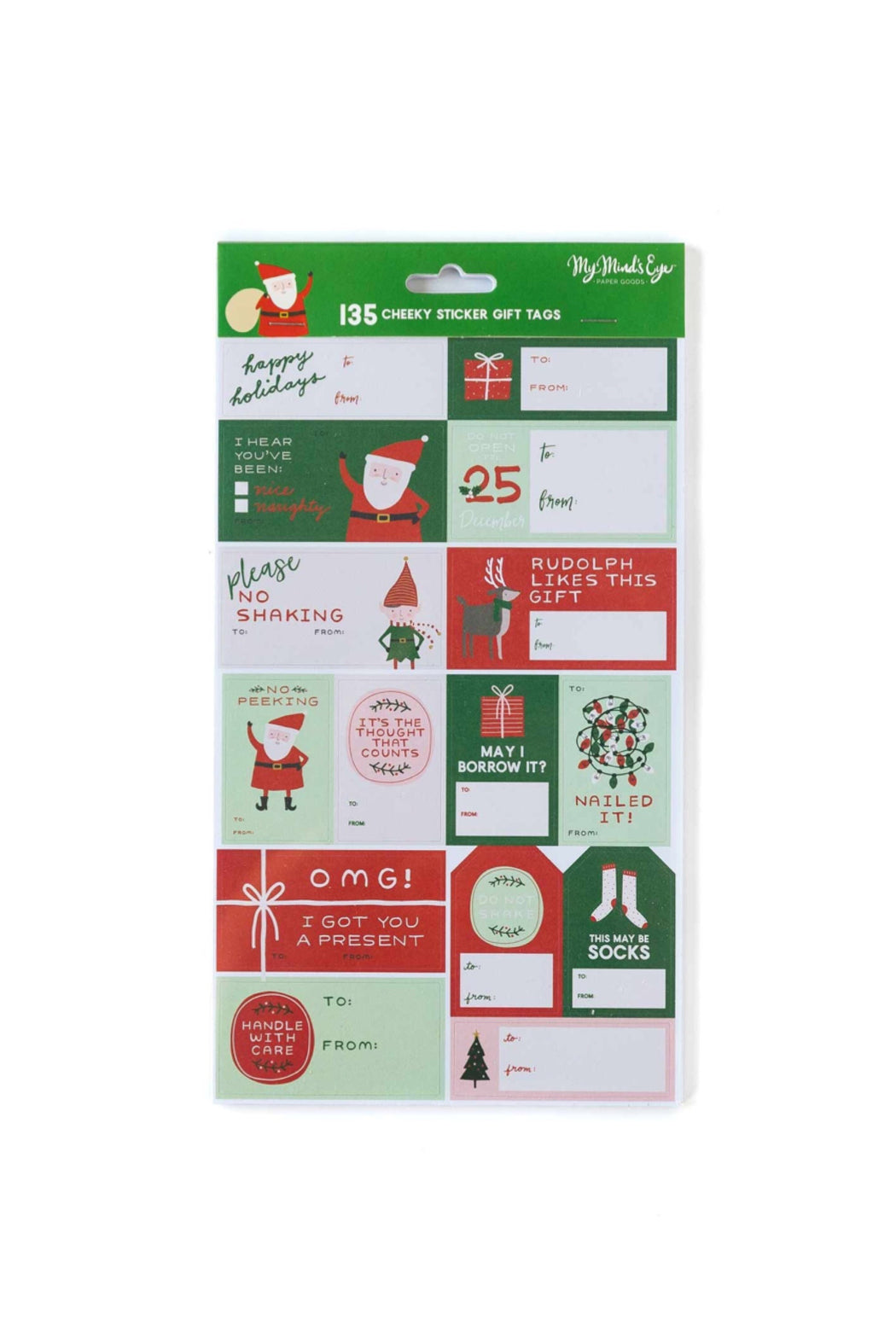 Christmas Sticker Gift Labels