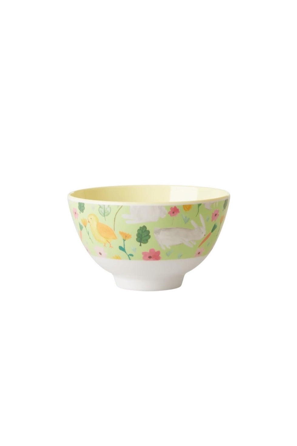Green Easter Melamine Kids Small Bowl