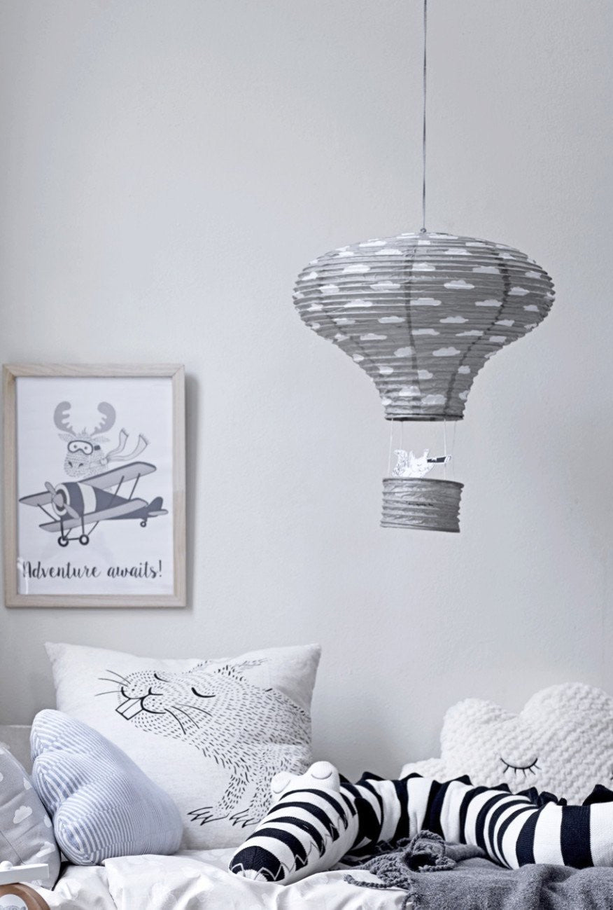 Air Balloon Paper Lantern