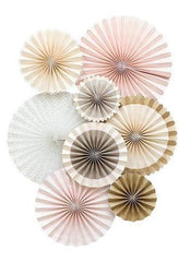 Champagne Wedding Party Fans, Partyware, My Mind's Eye - 3LittlePicks