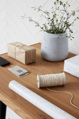Cream And Gold Twine, Stationary, Monograph - 3LittlePicks