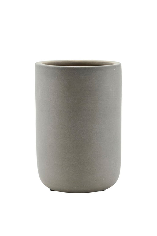 Matt Grey Jar