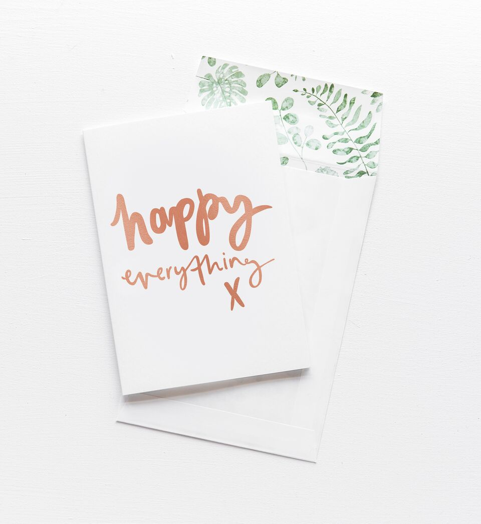 Happy Everything, Stationary, Emma Kate Co. - 3LittlePicks