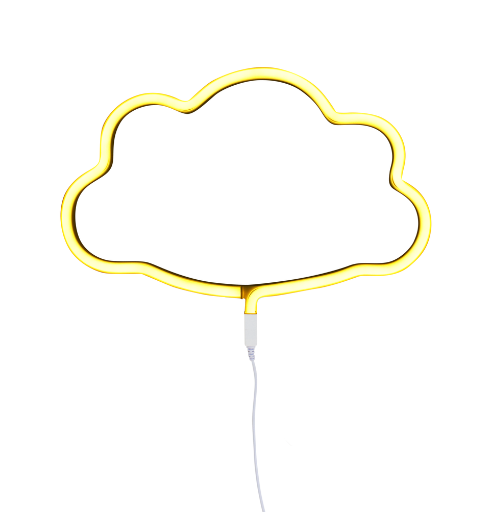 Yellow Neon Cloud Light, Lighting, A Little Lovely Company - 3LittlePicks