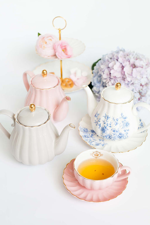 Royale Pumpkin Teapot, Drinkware, 3littlepicks - 3LittlePicks