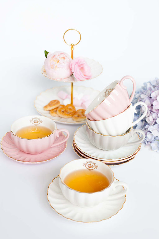 COMING BACK: Royale Pumpkin Tea Set, Drinkware, 3littlepicks - 3LittlePicks