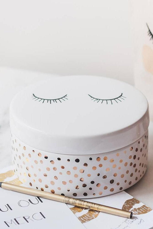 Golden Sleepy Eyes Jar Set