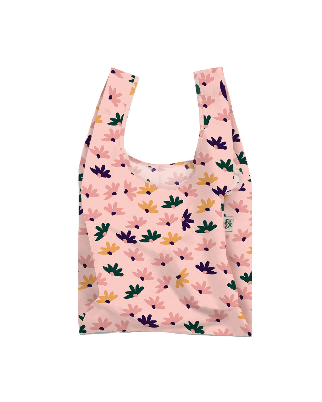 Sweet Daisy Reusable Shopping Bag, Lifestyle, Blushing Confetti - 3LittlePicks