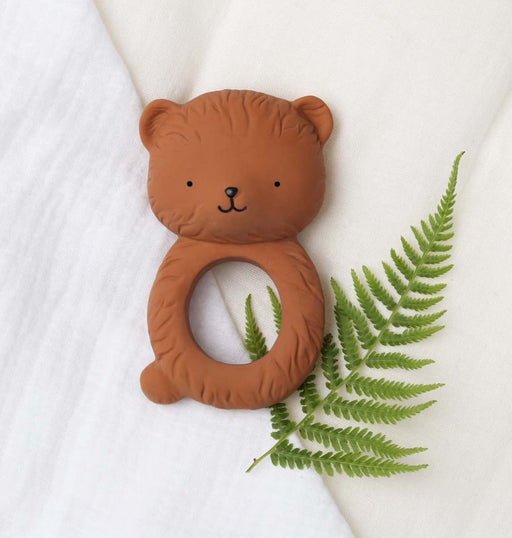 Bear Teething Ring, Toy, A Little Lovely Company - 3LittlePicks