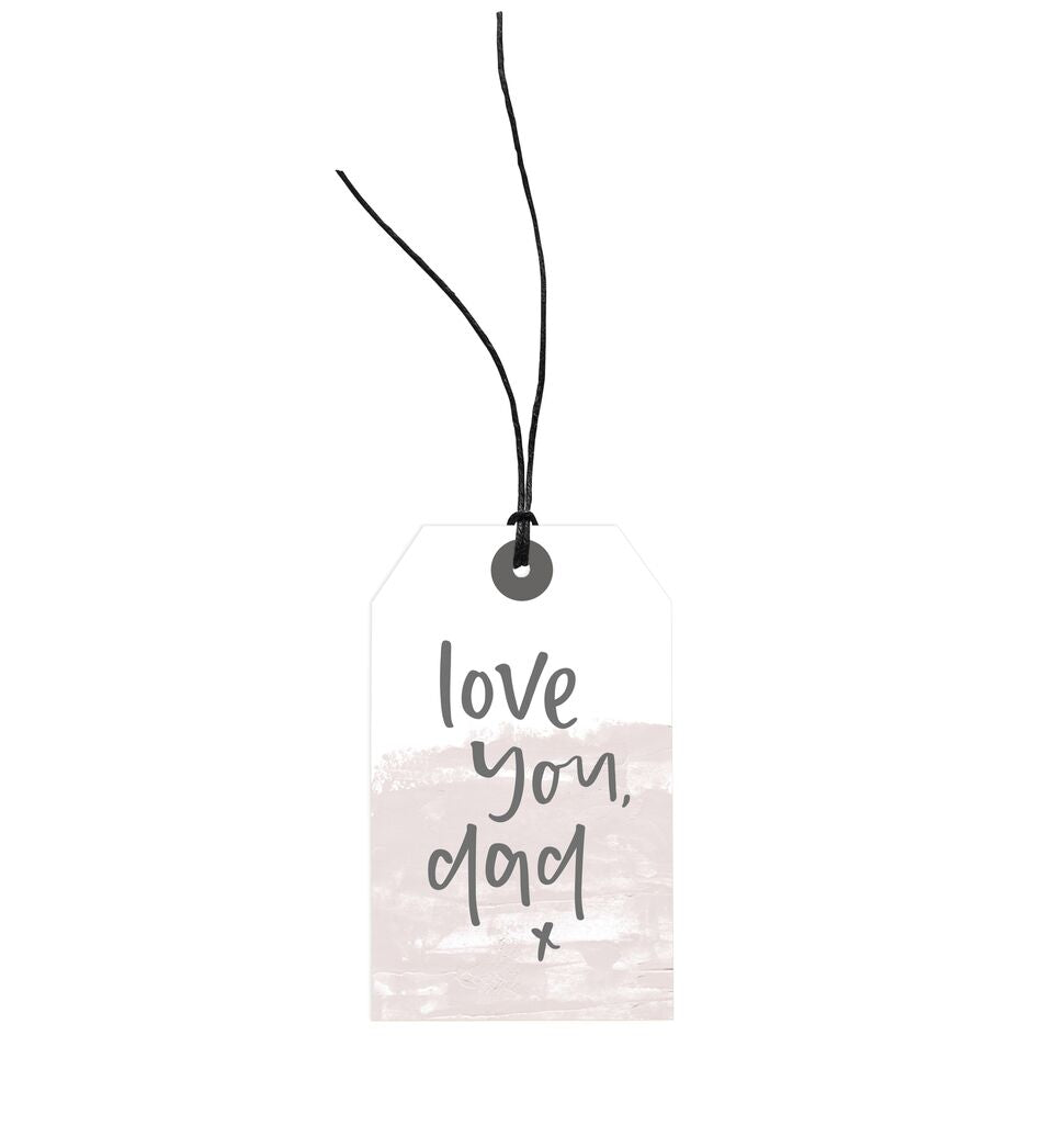 Love You Dad Gift Tag