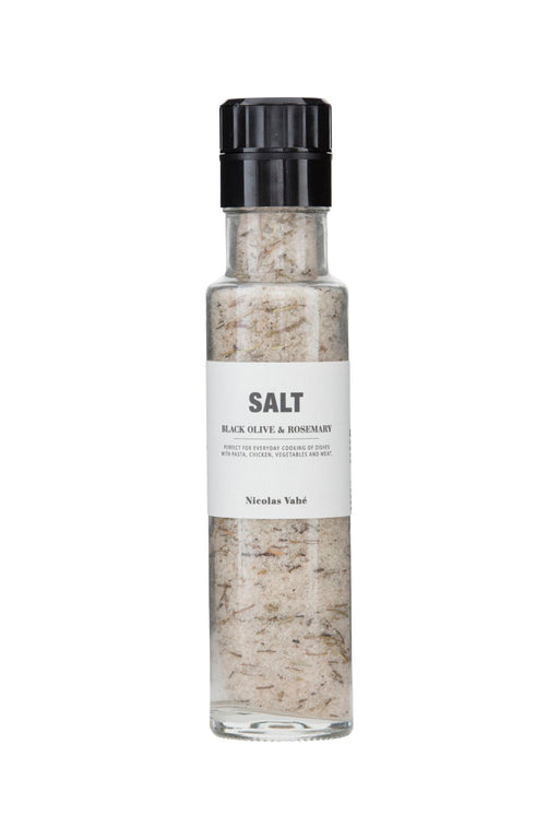Black Olives and Rosemary Salt, Gourmet, Nicolas Vahé - 3LittlePicks
