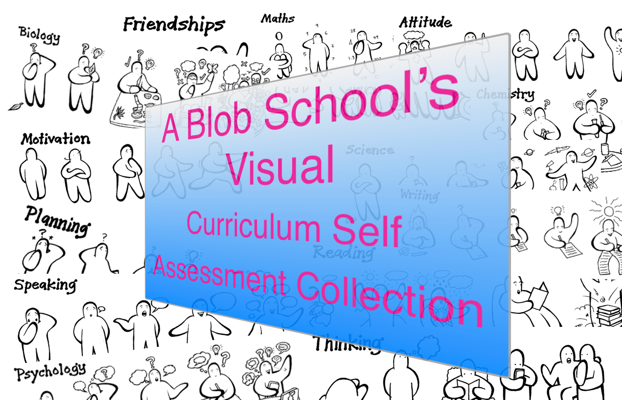A Blob School's Visual Curriculum Self Assessment Collection