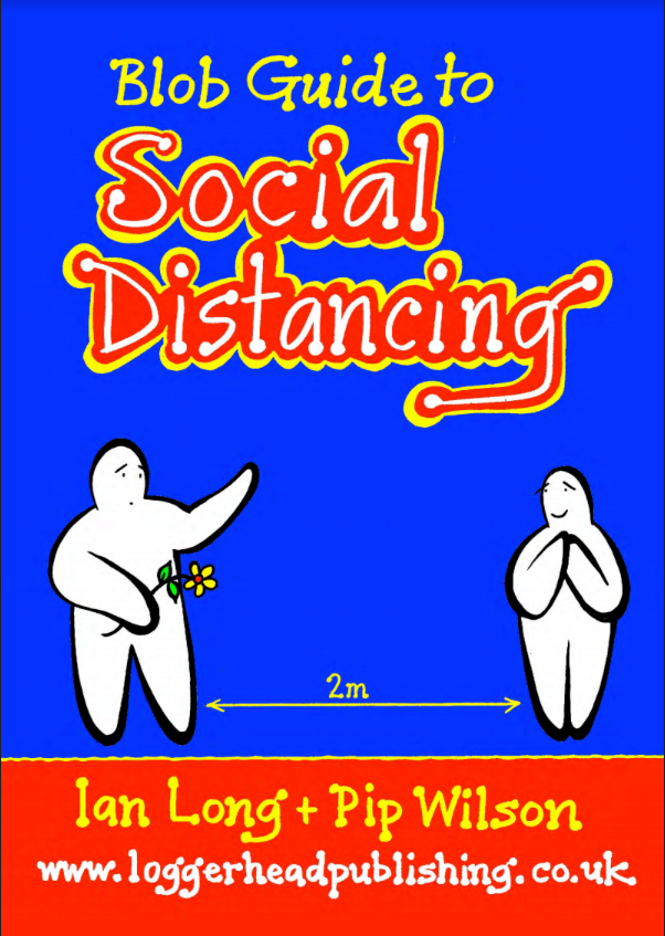 Blob Book - Blob Guide To Social Distancing
