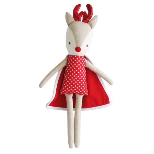 Super Hero Rudolph - Red Star - 50cm - Alimrose