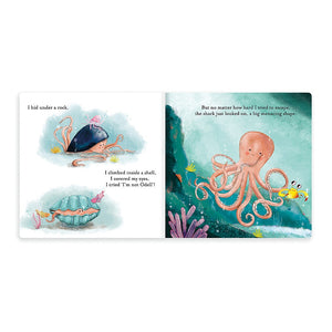 The Fearless Octopus - Book - Jellycat