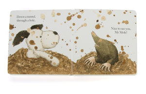 Puppy Makes Mischief Book - Jellycat
