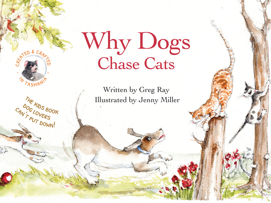 Why Dogs Chase Cats - Book