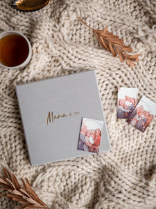 Mama & Me - Journal - Grey (Boxed) - Write To Me