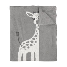 Load image into Gallery viewer, Knitted Blanket - Giraffe - Mister Fly
