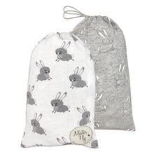 Load image into Gallery viewer, Bassinet Sheets - Floating Bunny - Twin Pack - Mister Fly