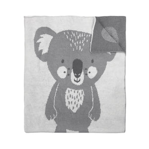 Knitted Blanket - Koala - Mister Fly
