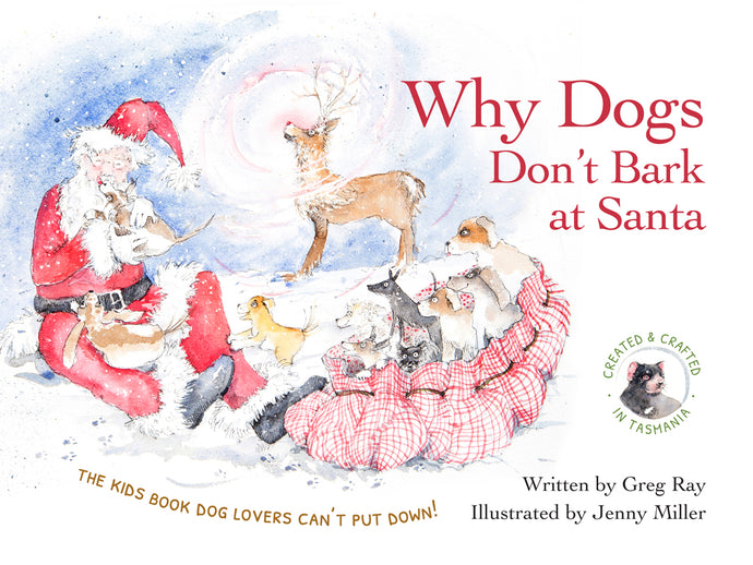 Why Dogs Don't Bark at Santa - Book