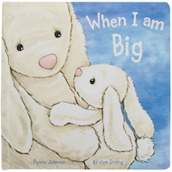 When I Am Big - Bashful Bunny Book - Jellycat