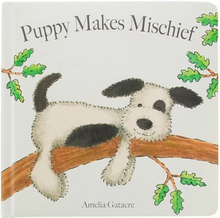 Load image into Gallery viewer, Puppy Makes Mischief Book - Jellycat
