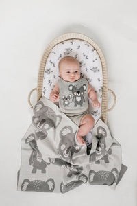 Bassinet Sheets - Koala Buddies - Twin Pack - Mister Fly