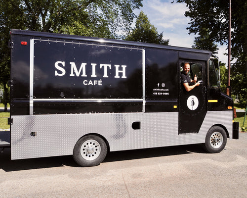 The Food Truck is ready to travel around Quebec City