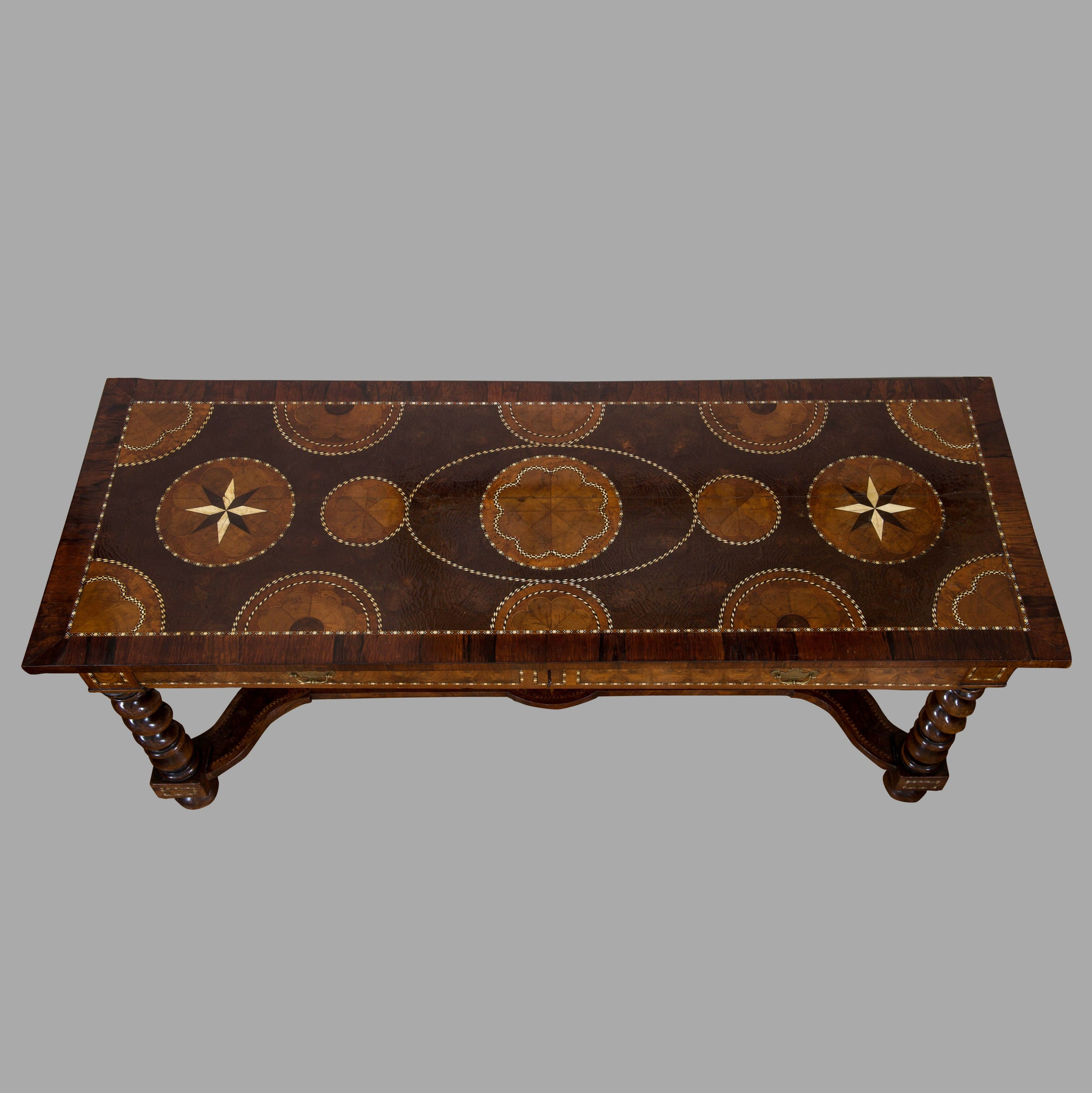 William III Anglo-Dutch Marquetry Side Table