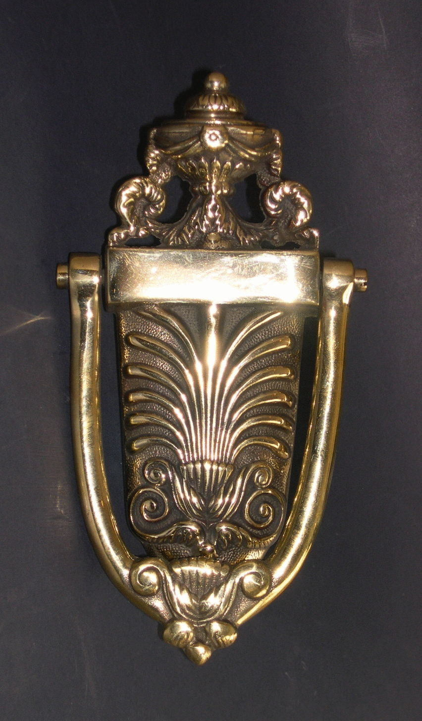 Anthemion Urn Door Knocker  (501)