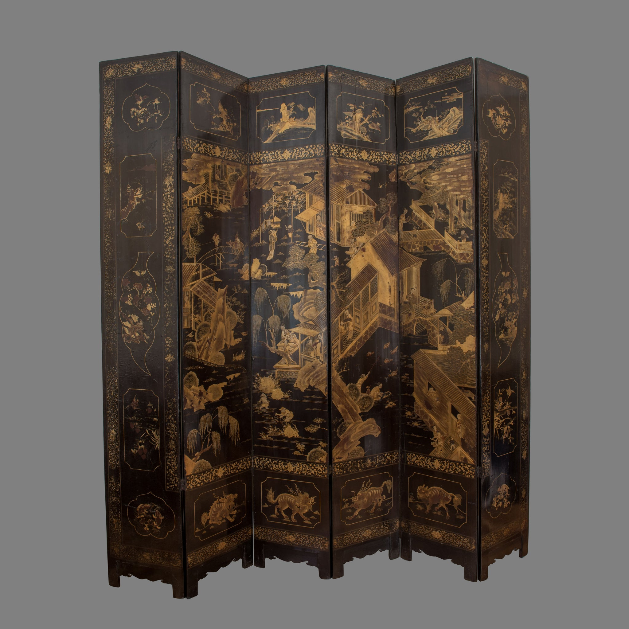 The 'Yale' 18th Century Chinese Screen