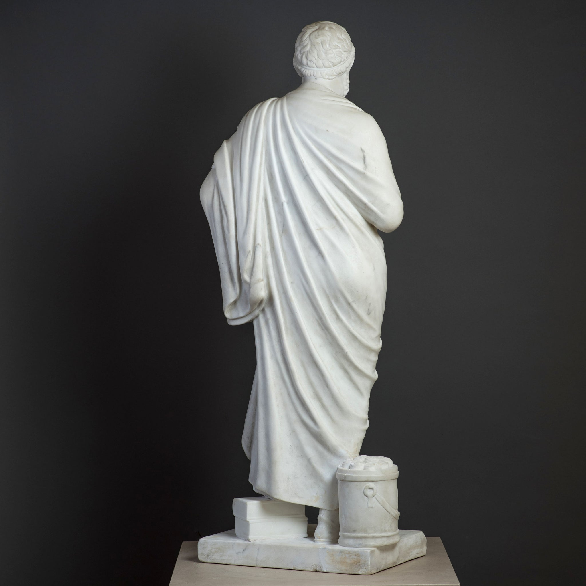 Carara Marble Sculpture of Sophocles