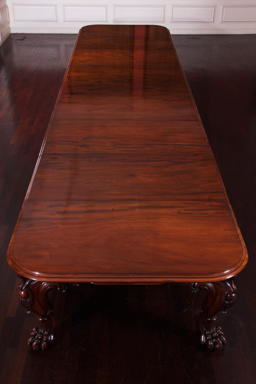 A Huge Cuban Mahogany Dining Table of Outstanding Quality