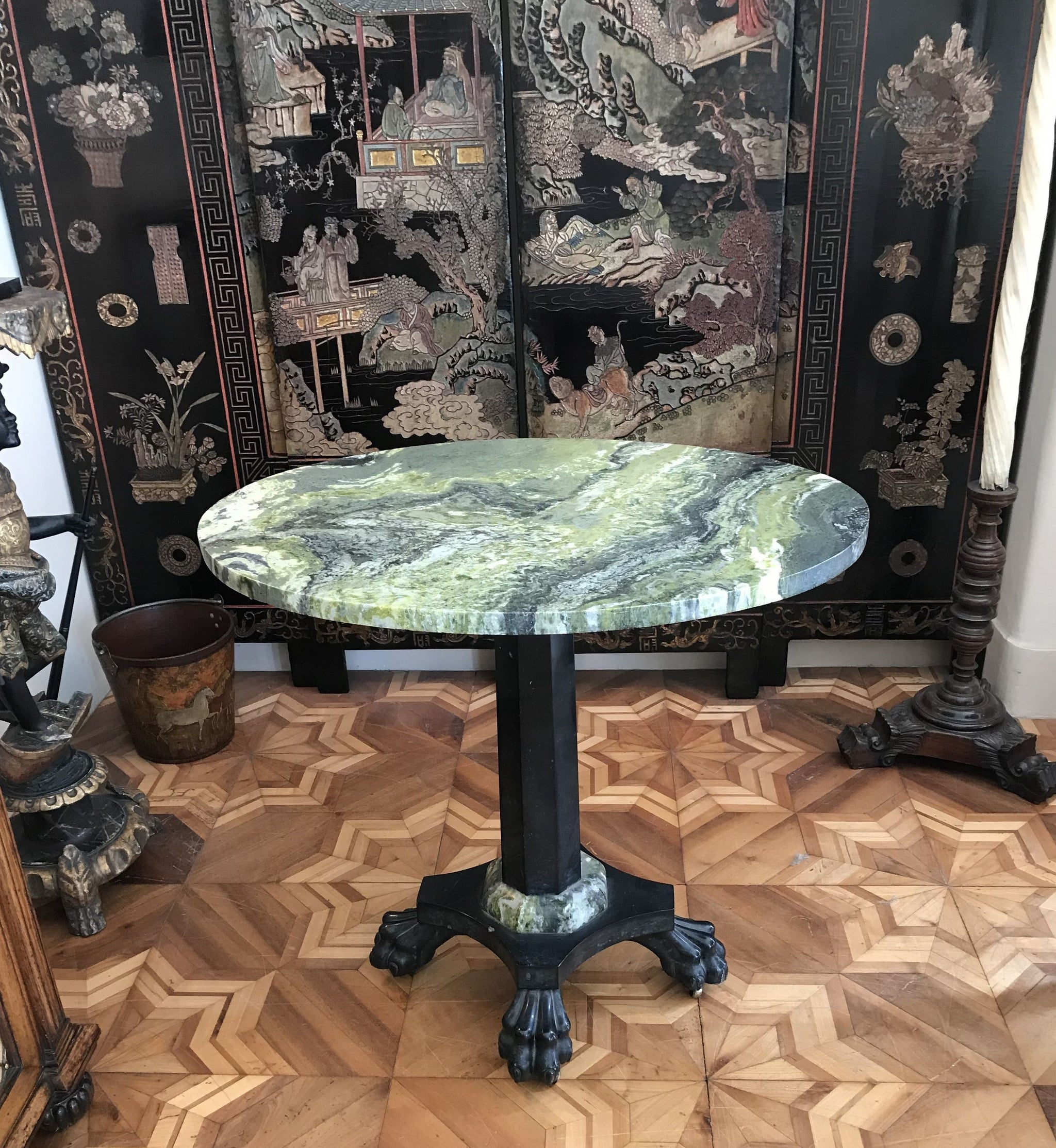 Irish Connemara & Kilkenny Marble Table