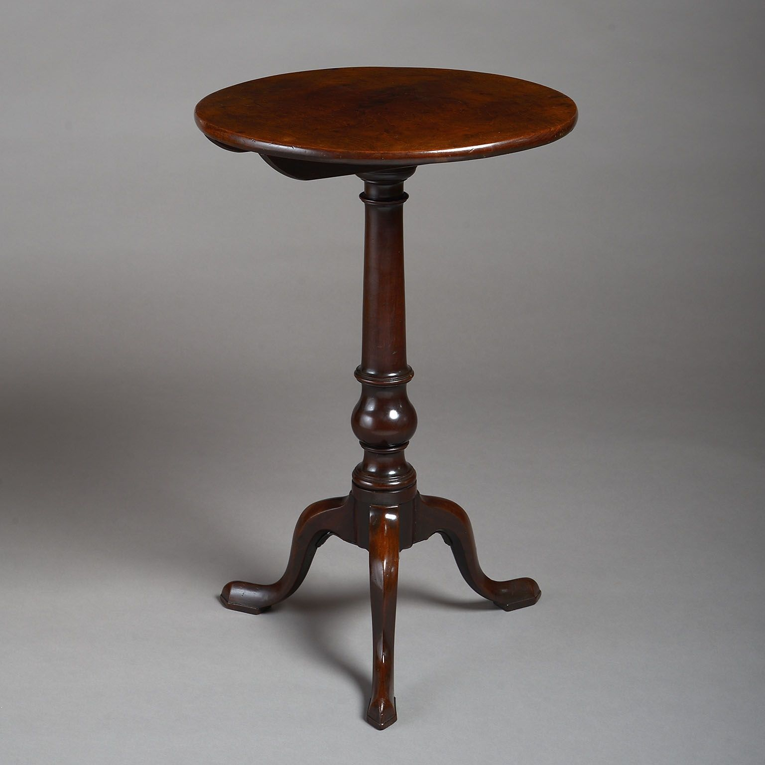 Early George III Mahogany Tripod Table