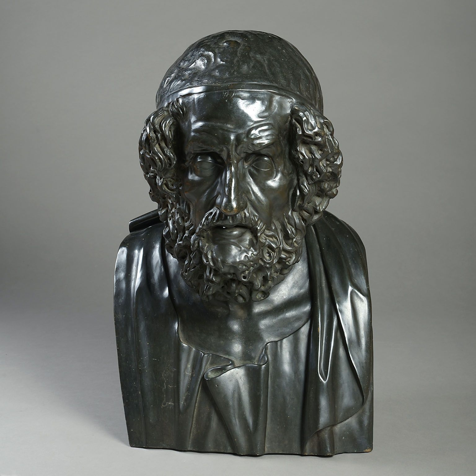 Bronze Bust of Homer