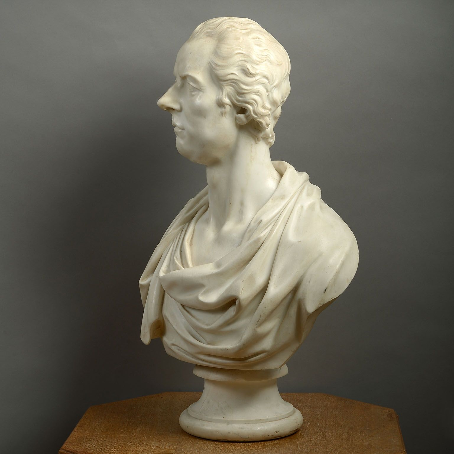 Marble Bust of William Pitt the Younger