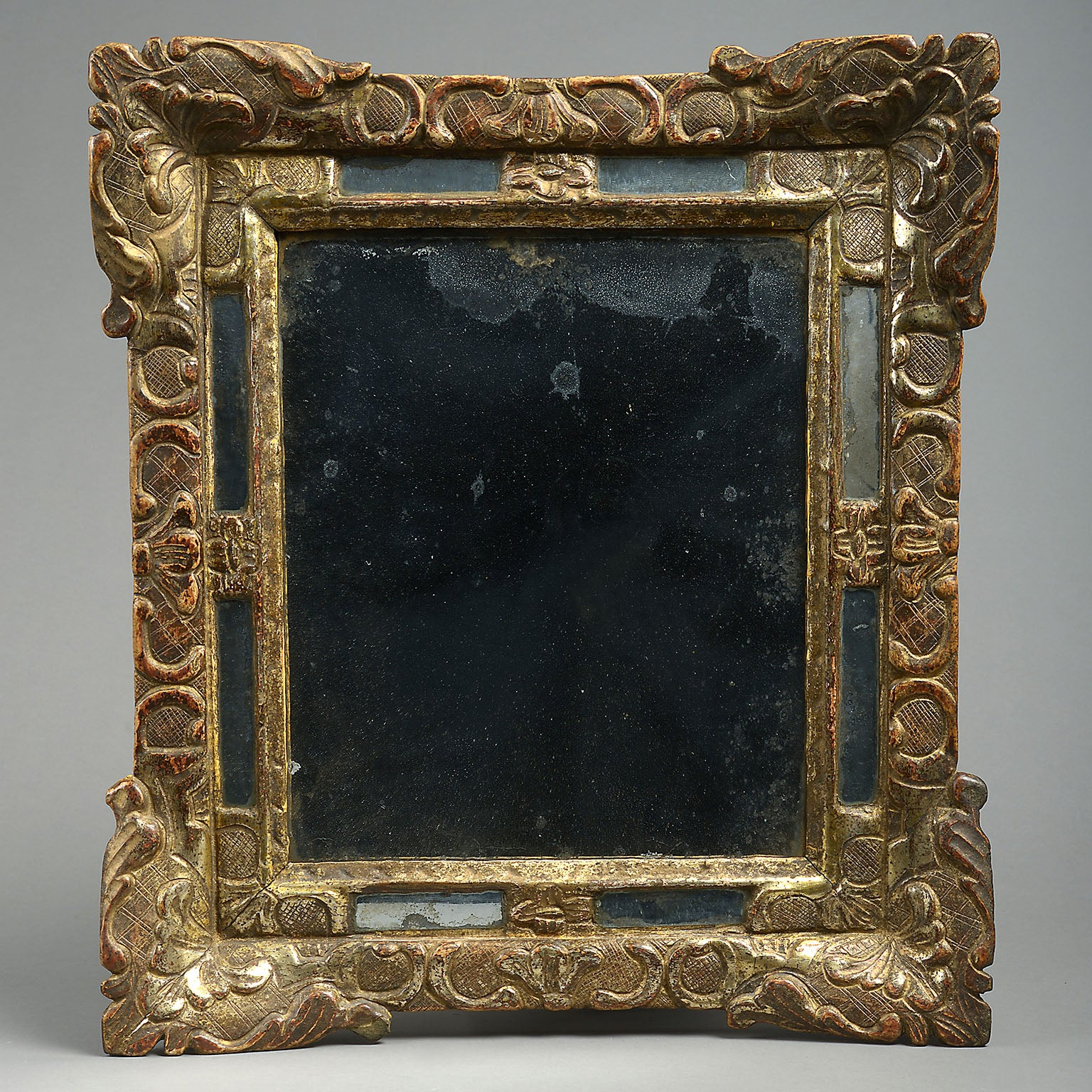 Italian Border Glass Mirror