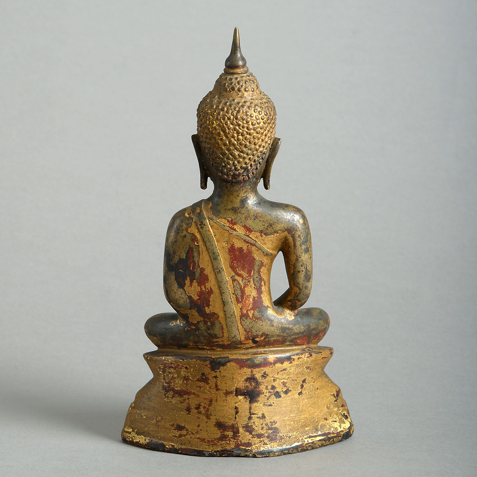 Gilt-Bronze Figure of Buddha
